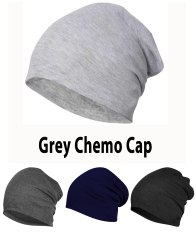 Chemo Grey Beanie Cotton Cap
