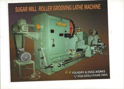 Sugar Mill Roller Groving Lathe Machine