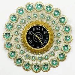 Gitanjali Metal Living Room Wall Clock