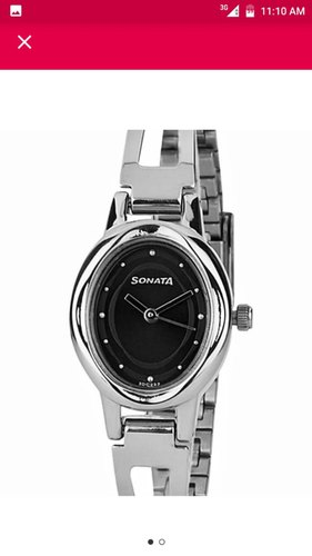 Women Stainless Steel Sonata Silver Analog Ladies Watch Wa0062 Rs 330 Piece Id 20703701697