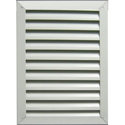 Louvers With Rain-Proof Side Blades