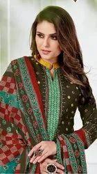 Ganesha Ruhani Vol-4 Printed Cotton Dress Material Catalog Collection
