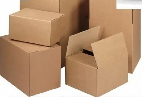 Plain Paperboard Movers & Packers Carton