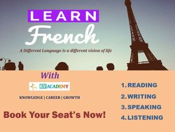 French Course Online - Delf (A1)