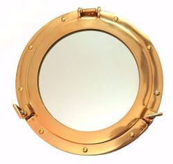 Solid Brass Marine Window Porthole