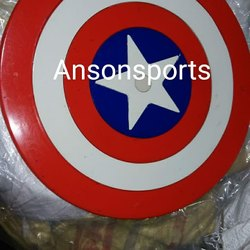 PU Coated Captain America Design Dumbells