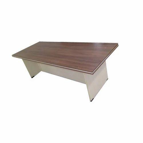 Rectangular Wooden Office Table Size Feet X Feet Rs - 4 feet office table