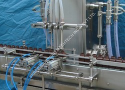 Bottle Filling Machine For Pharmaceutical Syrup