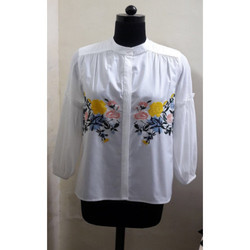 Casual Embroidered Shirt