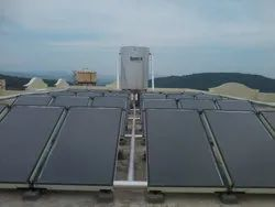 FPC Solar Water Heater Industrial Model