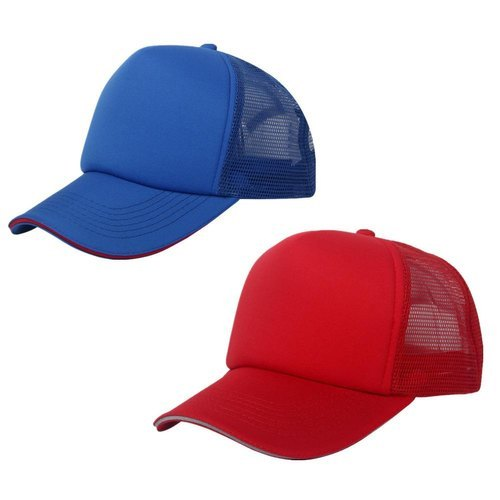 49be9a29af851 GK Polyester Plain Caps, Rs 45 /piece, Gk Enterprises   ID: 20679609697