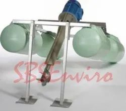 Aspirator Type Floating Aerator For STP Aeration System