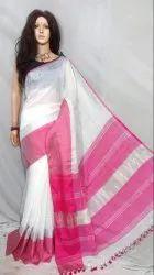Party Wear Premium quality linen mahapar handloom saree, 6.3 m, hand weaved