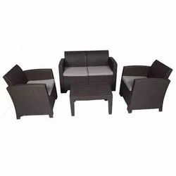 Universal Furniture Brown 5 Seater Sofa Set with Table
