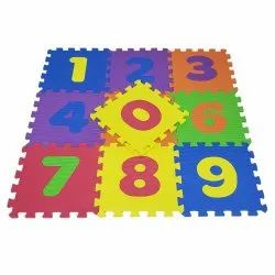 Numeric Eva Mat ( Set Of 10 Pcs )