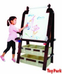 5.5FT. WOODEN EASEL BOARD (ET 216)