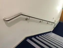 Stainless Steel Stairs Wall Mounted Handrail