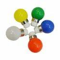 Aluminum Led Coloured Night Bulbs, 0.5w