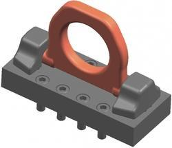 Anchorage Clamp With Screw Plate