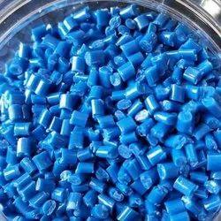 Blue Plastic Granules