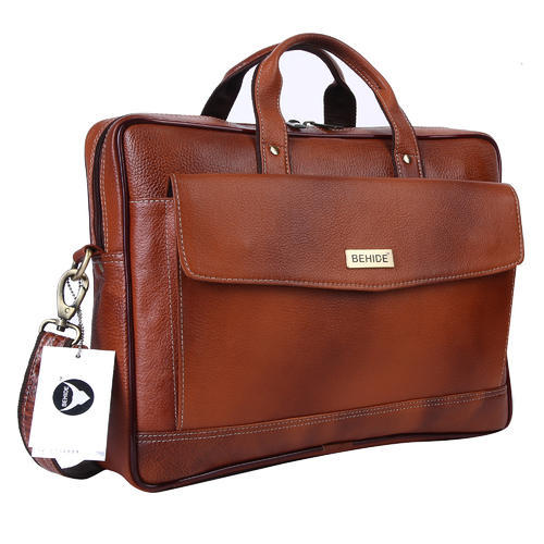 2a855695a6c6 Behide Tan Leather Handmade Men Laptop Bag Cross Over Shoulder Messenger  Bag Office Bag (bhlb15)
