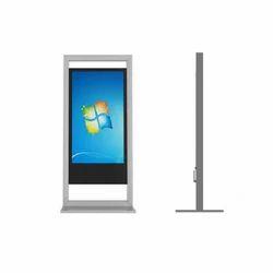 42 Inch Wall Mount LED Window Display Kiosk