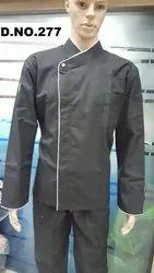 Hotel Uniforms Chef Coats Black