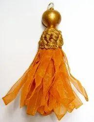 Orange Polyester Tassel