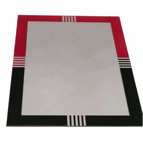 Rectangular Beveled Mirror Glass For Home Rs 220 Square Feet M S Glass And Hardwares Id 21119376488