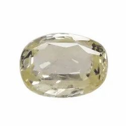 Loupe Clean Natural Ceylon Yellow Sapphire