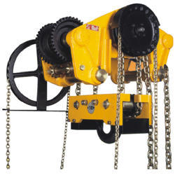 Model USH Triple Spur Gear Chain Pulley Block