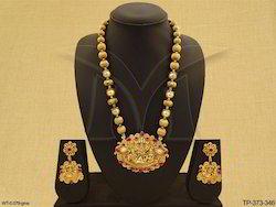 Temple Jewellery Temple Pendant Set