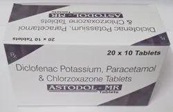 Dicolofenac Potassium Paracetamol & Cholorzoxazone Tablets