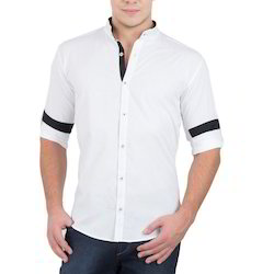 Mens Collar Neck Shirt