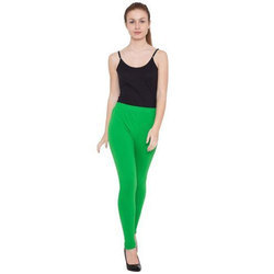 Ladies Cotton Lycra Plain Legging 200 GSM