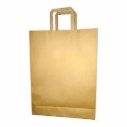 Brown Flat Handle Paper Bag