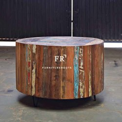 The Reclaimed Wood Round Coffee Table For Fabulous Best Ideas