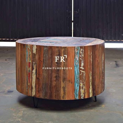 71x71x47 The Reclaimed Wood Round Coffee Table For Fabulous Best