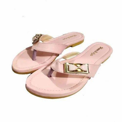 Ladies Designer Flat Sandal at Rs 130