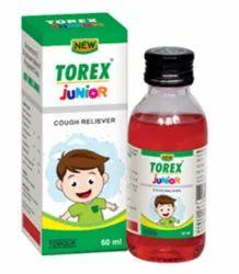 Torex Junior Cough Syrup, 60 ml