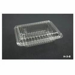 H-3-B Plastic Container