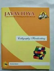 Handwriting Nirmala Abacus And Calligraphy Classes Book