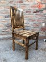 Woavin Industrial, Commercial, Vintage Hotel, Restaurant, Cafe, Painted Dinning Chair