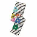 Multicolor Stripe and Flower Print Leggings