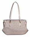 Luvoksi Dagny Shoulder Tote Handbag Silver