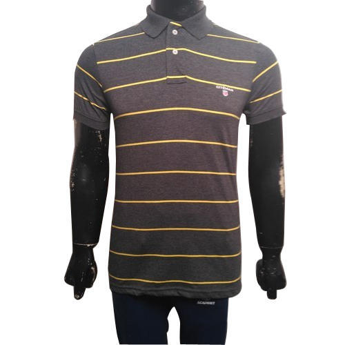 e83551802e Medium, Xl Men's Striped T Shirt, Rs 170 /piece, Goyam Knitwears Pvt ...