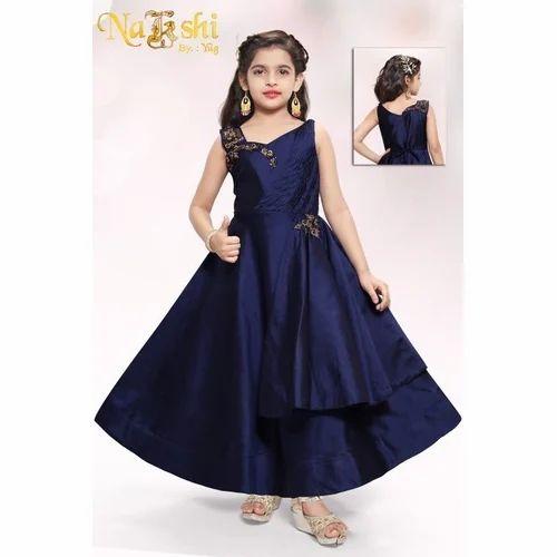 Kids Blue Gown