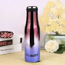 Probott Stainless Steel Double Wall Vacuum Flask Mirror Sports Bottle 500ml PB 500-32