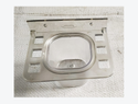 Fiber White Modern Fancy Stainless Steel Bath Accessories, Size: Adjustable