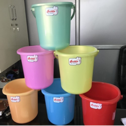 Multicolor Plastic Bucket